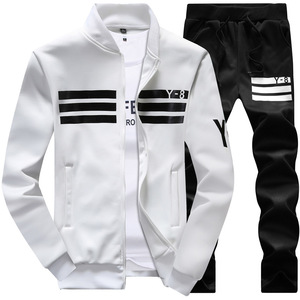 Hoodie sweatshirt long sleeve Set with hoodies and jogger pants sets for man