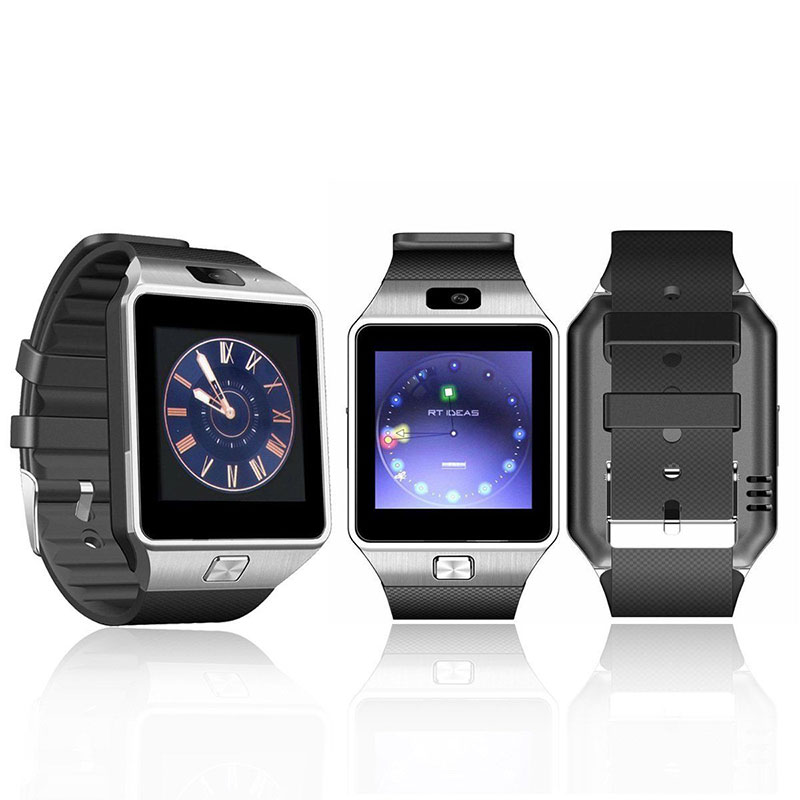 2017 Hot sell DZ09 Smart Watch Phone with camera,Bluetooth SmartPhone Watch for android