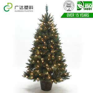 Manufacturer Supply Led Optical Fiber pyramid artificial christmas tree