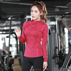 Women sports and fitness yoga clothes jacket coat thin tight jacket