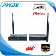 Pinwei PW-DT211W 2.4G and 5.8G wireless HDMI Extender with IR