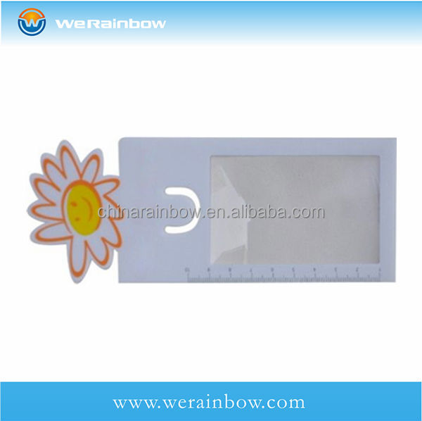Bookmark Magnifier with Flower Design