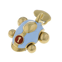 Silver Making Fashion Jewelry 18K Gold Plated Buggy Car Charm
