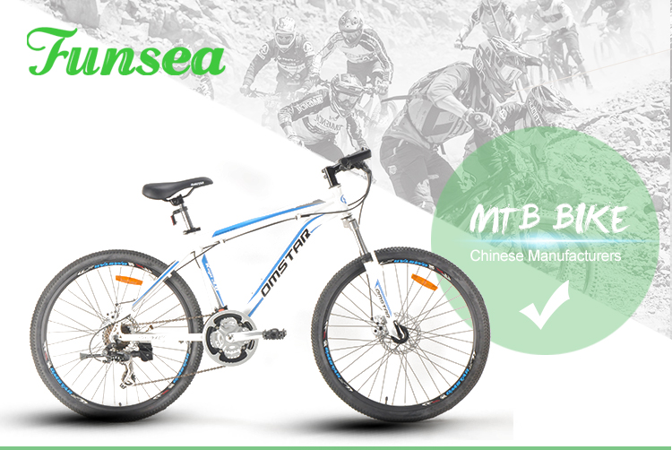 Chinese Funsea competitive quality cheap price men woman 21 speeds downhill bicycle 26 inch mtb bicycle mountain bike for adults