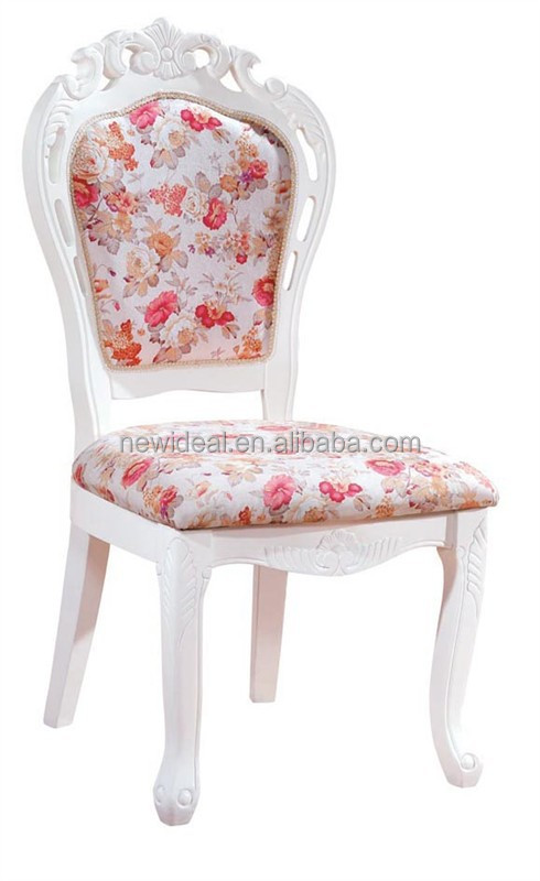 new arrival solid wood side restaurant chair /wood dining chair with carved pattern (NG2650)