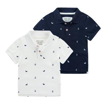 cb0e4e65c Summer Online Shopping Baby Boys Short Sleeve Cotton Polo T-shirt ...