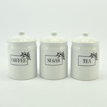 Modern Ceramic Coffee Sugar Tea