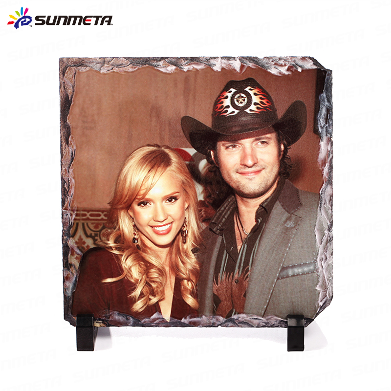 Sunmeta Sublimation Blanks Rock Slate 20*20cm At Low Price Wholesale (SH-25)