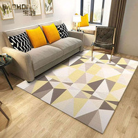 cheap wholesale comfortable design non-slip large area rug for living room
