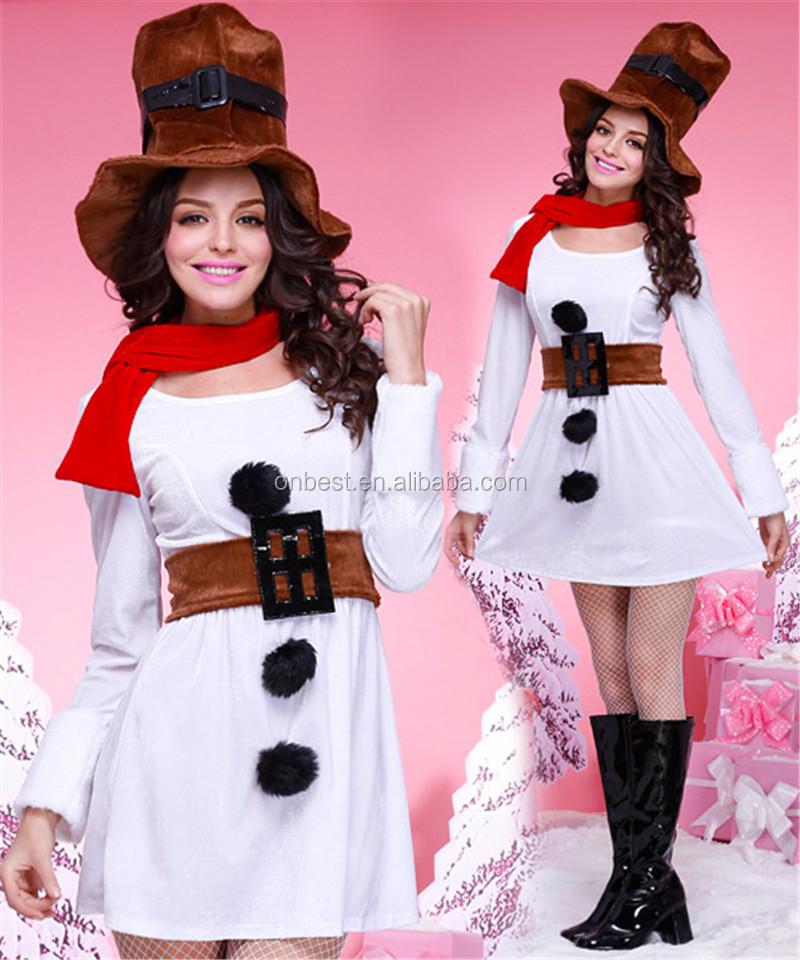 Mu eco de nieve traje de beb ni a vestidos de navidad - Trajes de navidad para bebes ...