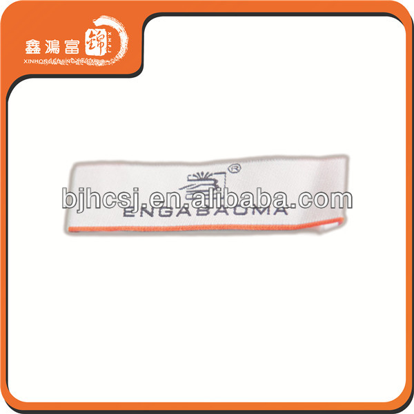 Wholesale China manufacture garment fabric neck label