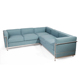 Modern couch living room sectional L shaped sofa set with fabric