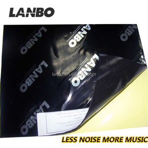 Lanbo car sound damping sheet,sound deadening pads,car butyl aluminum foil damper for car sound deadening