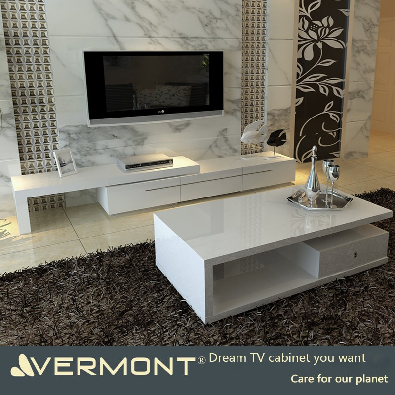 Wooden Lcd Tv Stand Design Living Room