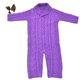 violet jacquard weave child sweater baby winter clothes for baby