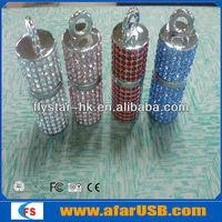 Fashionable Metal Jewerly Necklace Shape Usb Flash Drive Disk 2GB 4GB 8GB 16GB 32GB 64GB 100% Full Capacity
