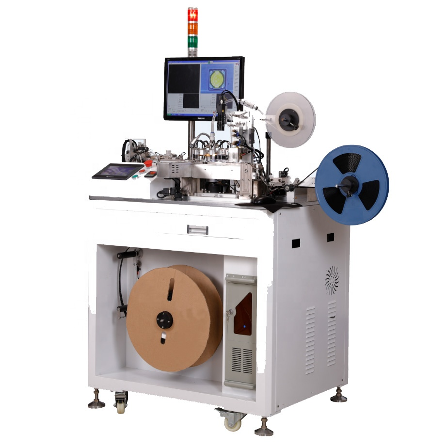 Computer Controlled Auto ESD Carrier Tape SMD Verpakking Machines