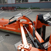 China Perfect AGF220 Verge Flail Mower Tractor Side Mower with Lifting Arms For Sale
