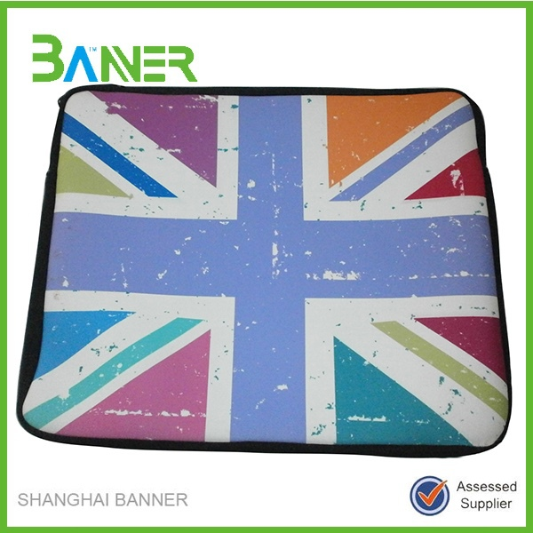 High Quality shockproof soft full printing neoprene laptop case