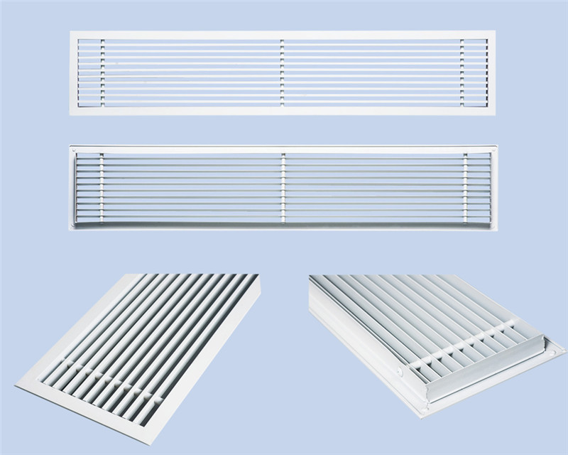 ABS/ plastic air grille / floor register for wall application