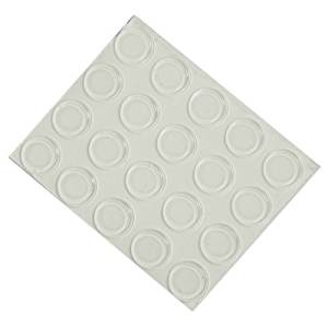 Bumpers, Round (BP905) - 1 Sheet of 50 Bumpers 0.06 Inch Thick X 0.5 Inch Diameter