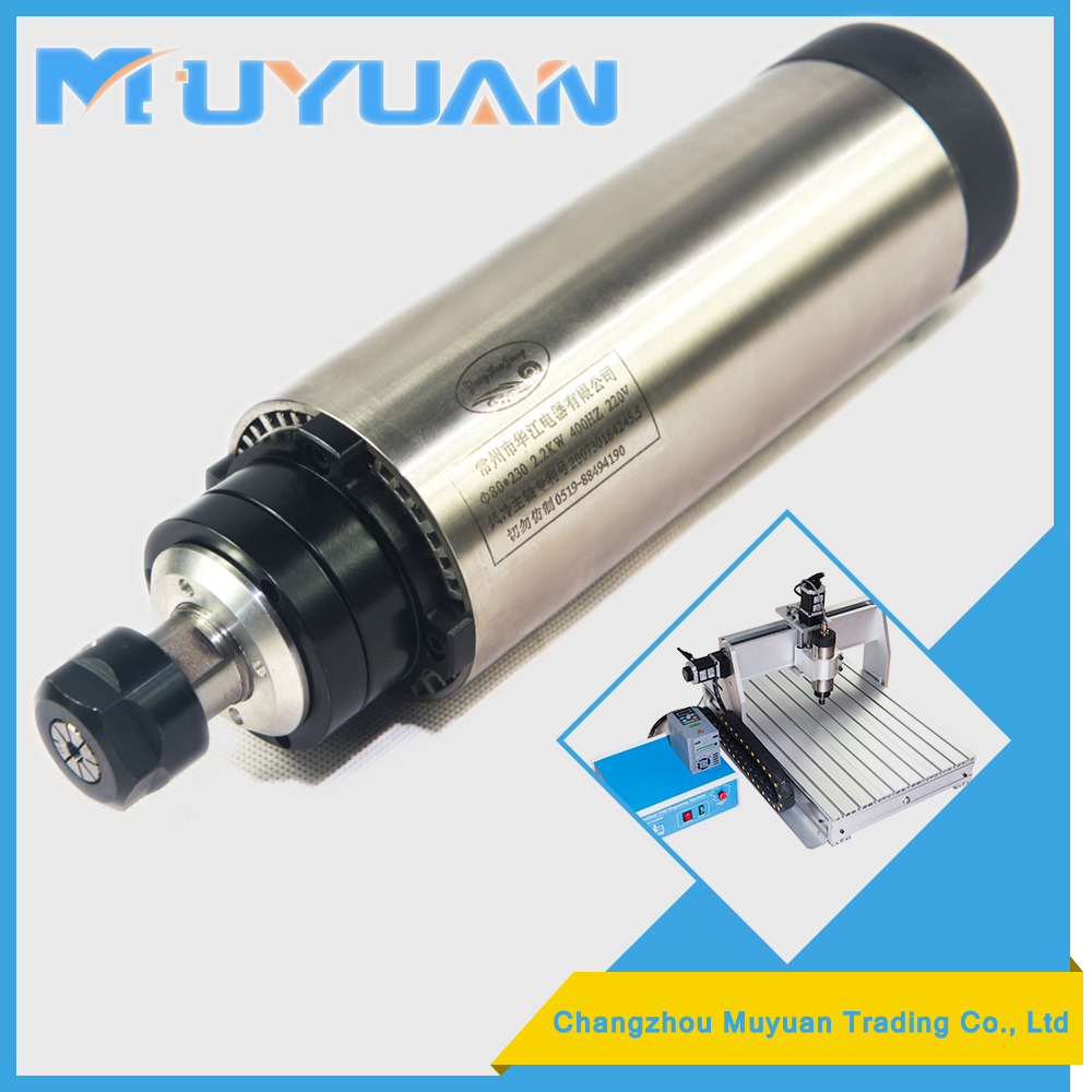home used 2.2 KW high frequency spindle motor at the Wholesale Price
