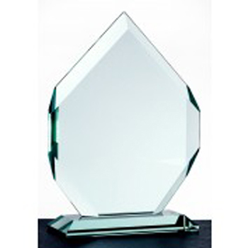 Mountain jade glass award