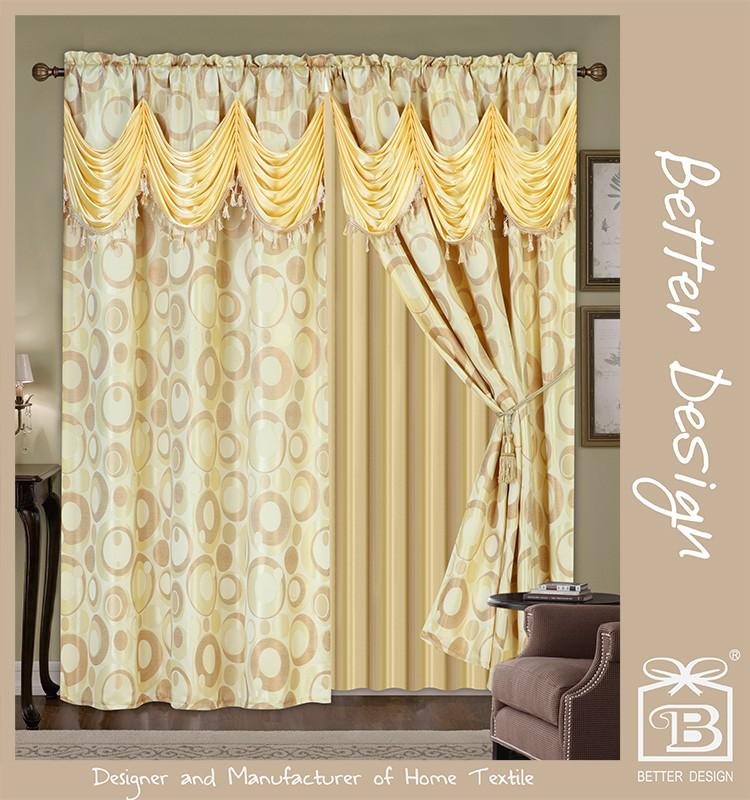 Goedkope 2 Stks Luxe Klassieke Gordijnen Panel Decoratieve Voor ...