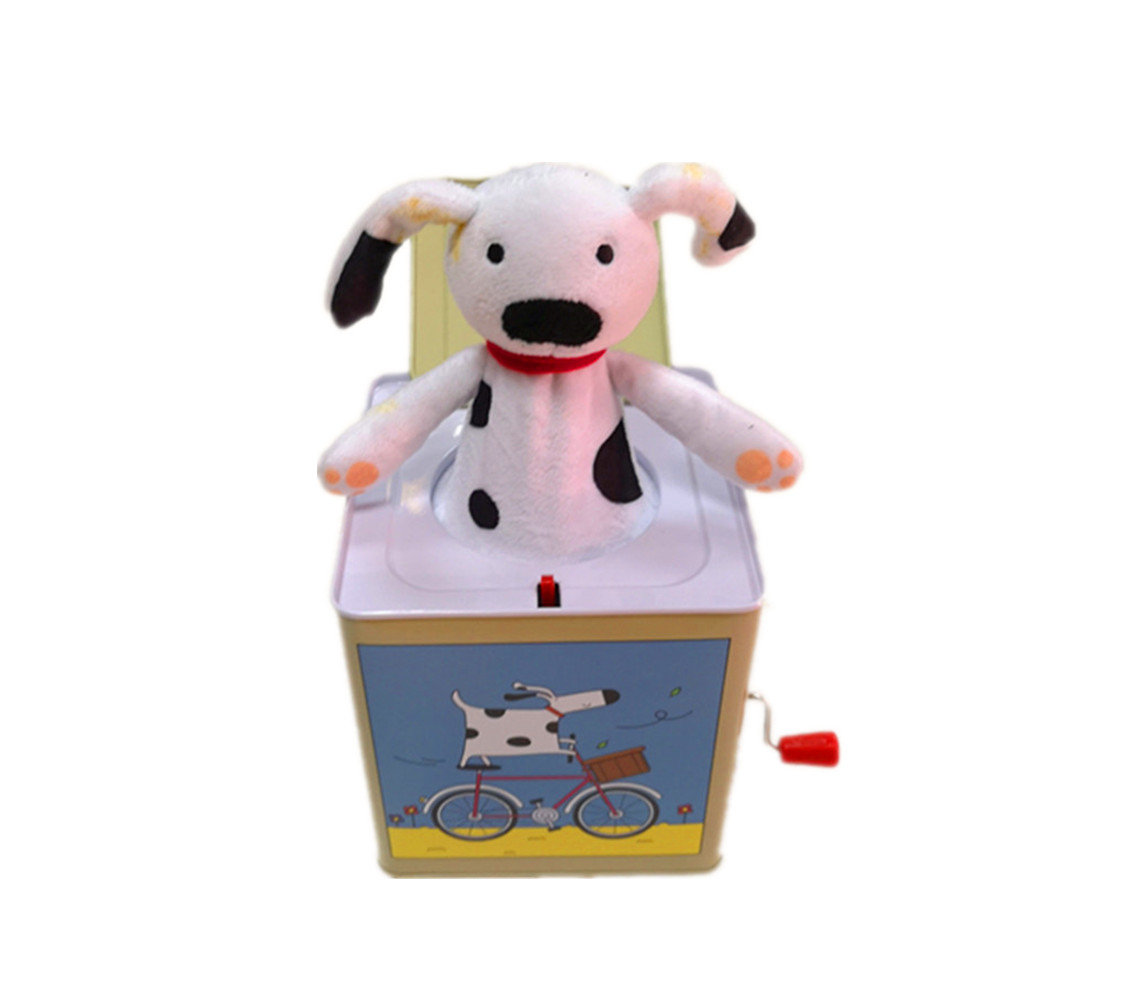 Special Design Hand Crank Custom Melody  Music Box For Child