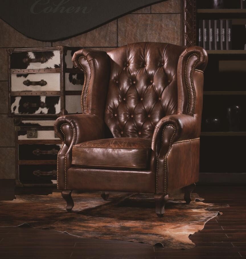 Rustic Single Seater Couch Sofa
