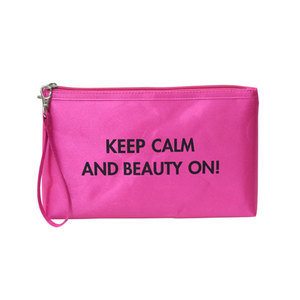 Fashion Brand Ladies PU Leather Vanity cosmetic Bag purse Cosmetic Pouch
