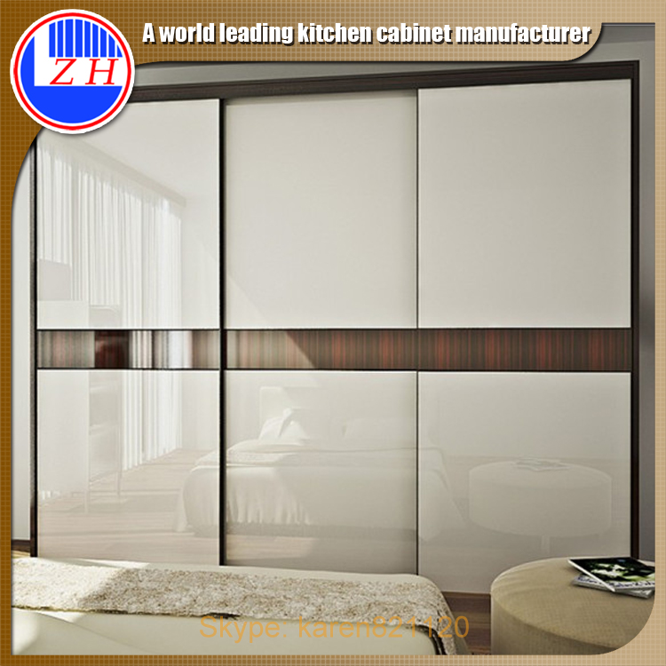 Free standing wardrobe cabinet closet sliding door design - Bedroom cabinets with sliding doors ...