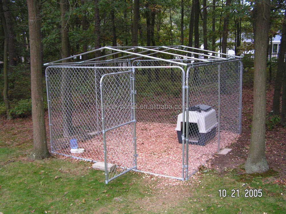 Outdoor Galvanized Steel Dog Kennel Fence Panel Buy Dog