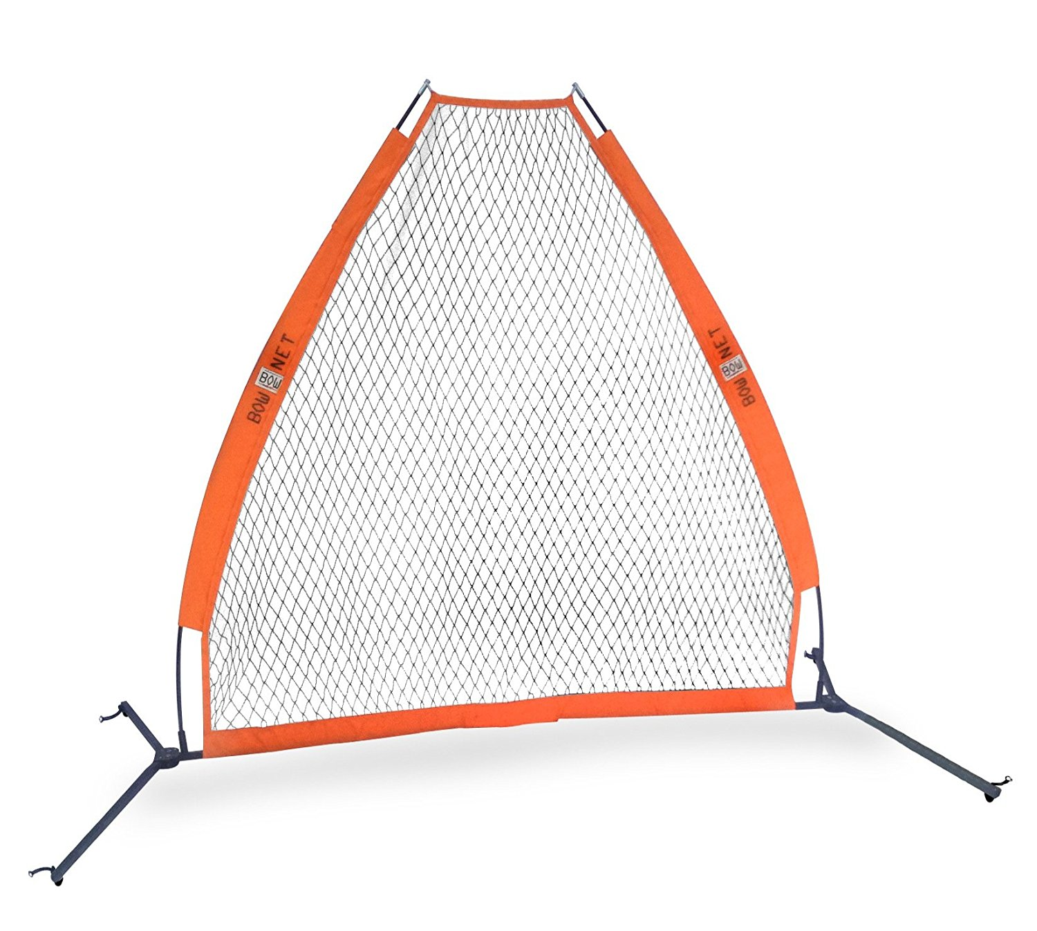 6d4a51f540a Get Quotations · Bow Net Portable Pitching Screen (7 x 7 feet) (7x7 Bundle)