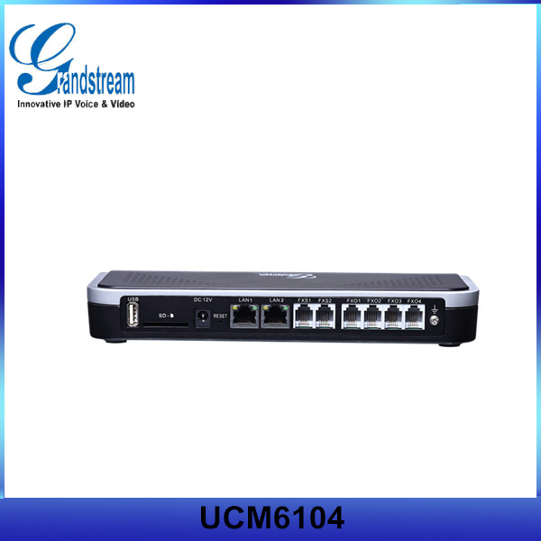 Grandstream Wifi IP PBX UCM6104 With Reset Switch
