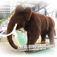 High Simulation Customized Large Artificial Mammoth Animal Model