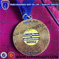 Nash Ville Country Music Half Marathon running Medal