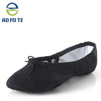 proveedor de china zapatos de ballet de la lona adultos hombres