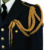 Ceremony aiguillettes shoulder cords with metal aglet for army uniform