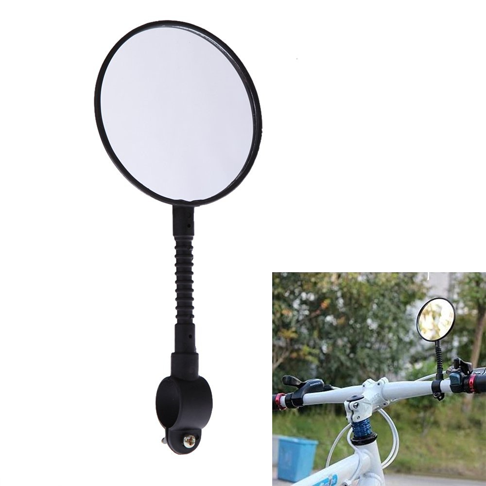 EverTrust(TM) Shatterproof & High-strength ABS Mountain Road MTB Bike Bicycle Rear View Mirror Reflective Cycling Safety Flat Mirror