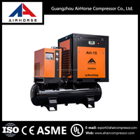 High Quality Industrial Advantage Price Water Lubricated Oil-Free Screw Air Compressor With Tank And Dryer