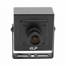 ELP VGA MJPEG 60fps 640X480 CMOS OV7725 UVC CCTV Mini metal USB Camera for Project video capture