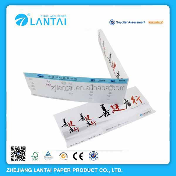 Thermal printed paper