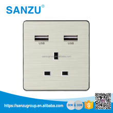 Universal 13A Switch Socket Outlet,UK Wall Socket,Wall Outlet USB