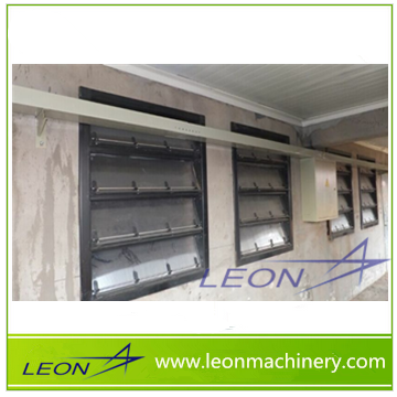 Leon series sidewall plastic poultry ventilation air inlet for chicken farm green house