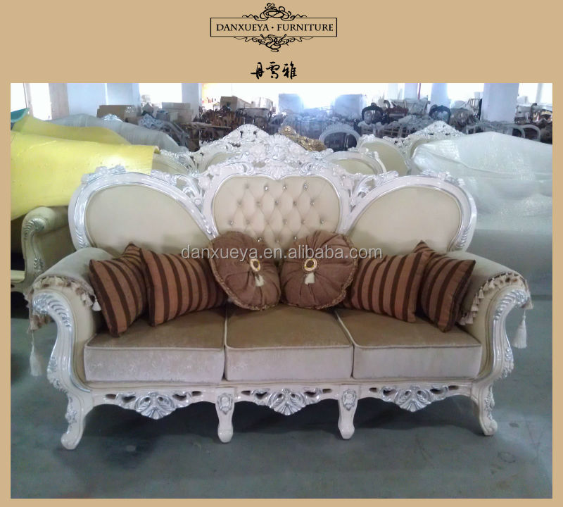 Antique Furniture With Foils Wooden Sofa Set Designs Indian Wooden