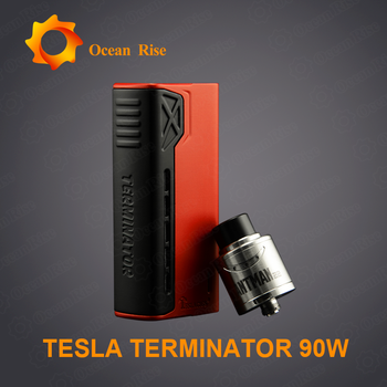 Chinese manufacturing companies Tesla Terminator 90w kit vape battery price  philippines, View vape box mods, Tesla Product Details from Shenzhen Ocean
