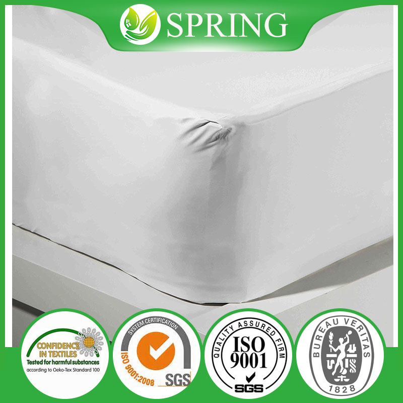 Hypoallergenic 100%Waterproof Mattress Protector Against Dust Mites, Fluids and Stains.Bed Bug Proof