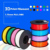 High Performance 3d Printer Filament ABS 1kg/roll 1.75mm Various Color Optional Manufacturer Sell Directly Most Economic ABS