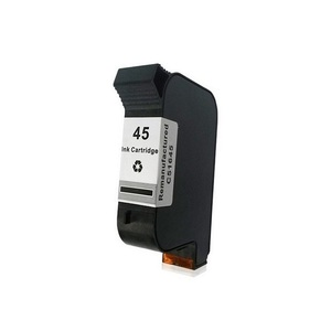 Hot high quality compatible ink cartridge 45 51645A with pigment ink
